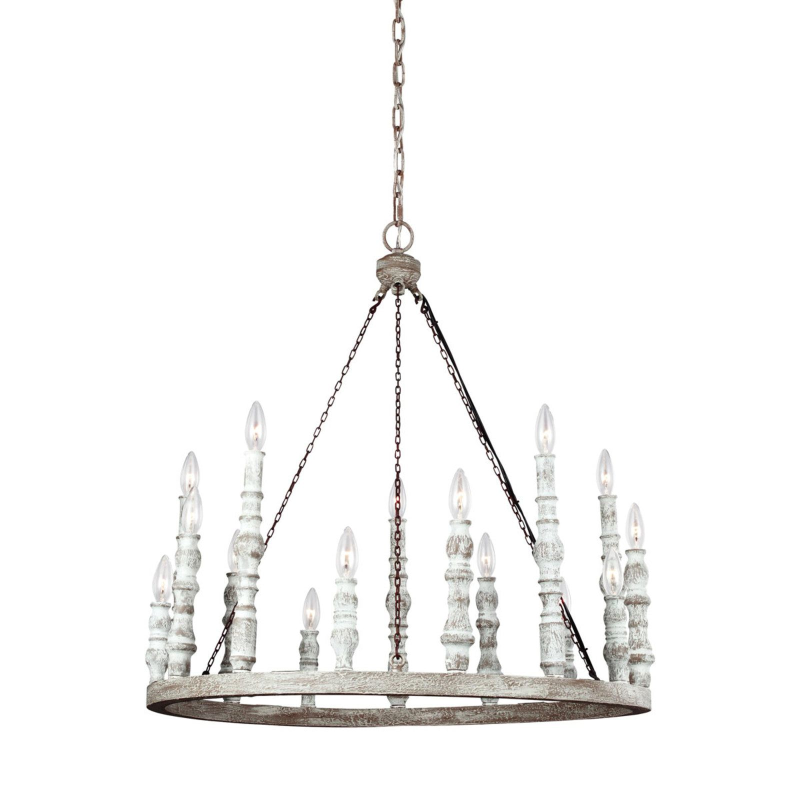 Distressed eclectic candlestick chandelier chandeliers chandelier distressed eclectic candlestick chandelier shades of light aloadofball Images