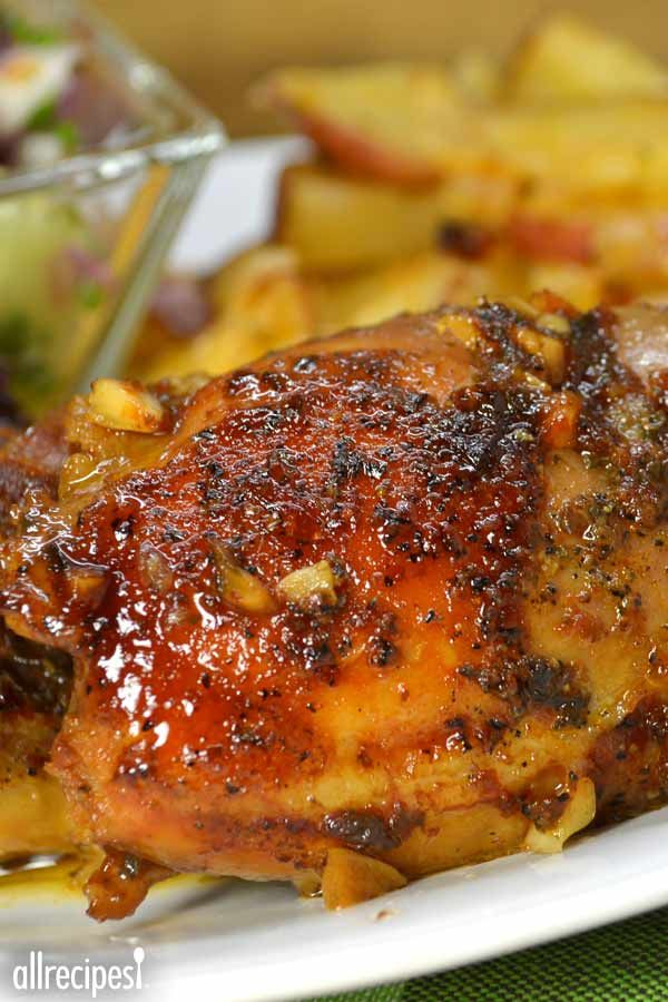Honey Garlic Slow Cooker Chicken Thighs My Family Raved About The
