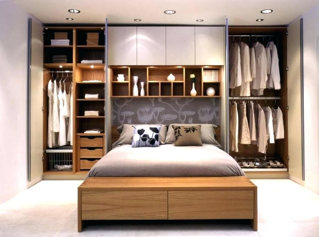Image Result For Wardrobe Around Bed Small Master Bedroom