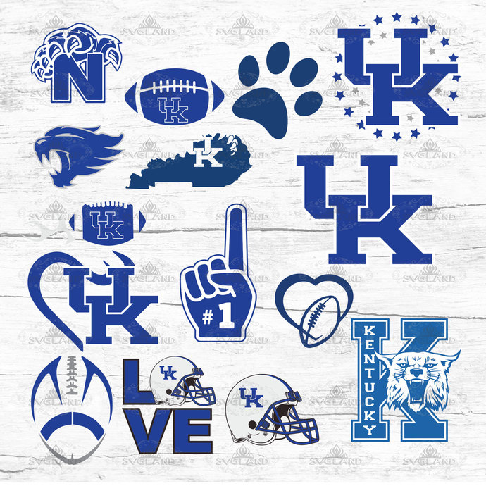 Kentucky Wildcats Kentucky Football Wildcats Team Kentucky Wildcats Fan College Football College Football Svg Football Ncaa Nfl In 2020 Kentucky Football Kentucky Wildcats Basketball Wallpaper