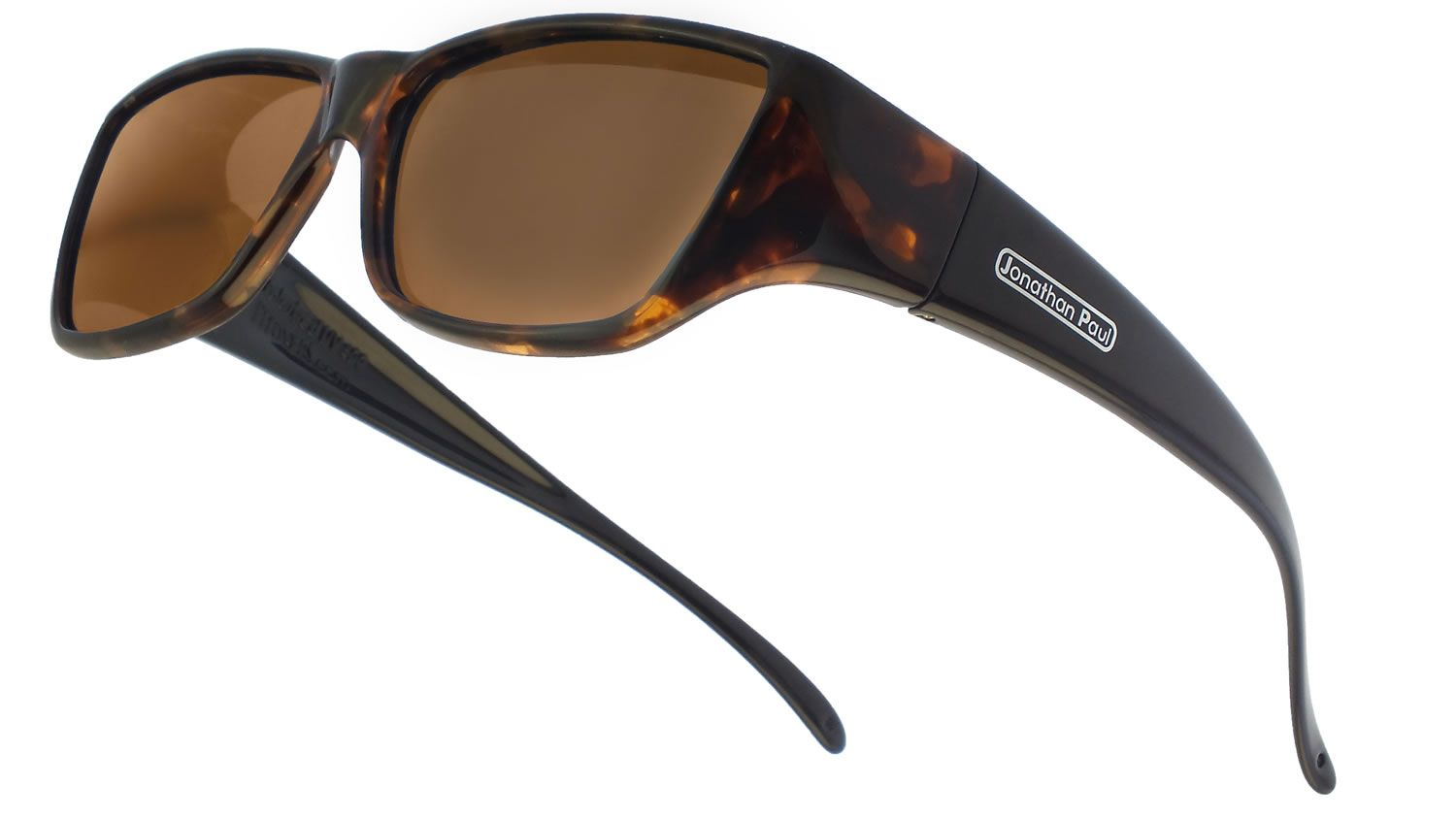 bd7100e9cc Neera™ Leopard Black (Polarvue® Amber) -- HIGH-FASHION FITOVER SUNGLASSES -  Stylish sunglasses made to fit over Rx glasses!