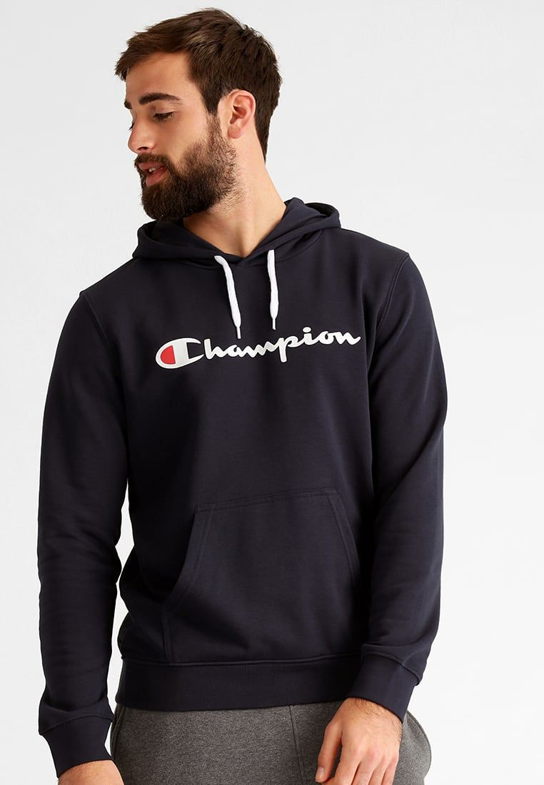 Champion Hoodie - dark blue - Zalando.be   For My Man   Hoodies ... 86ab3b2f0cfa