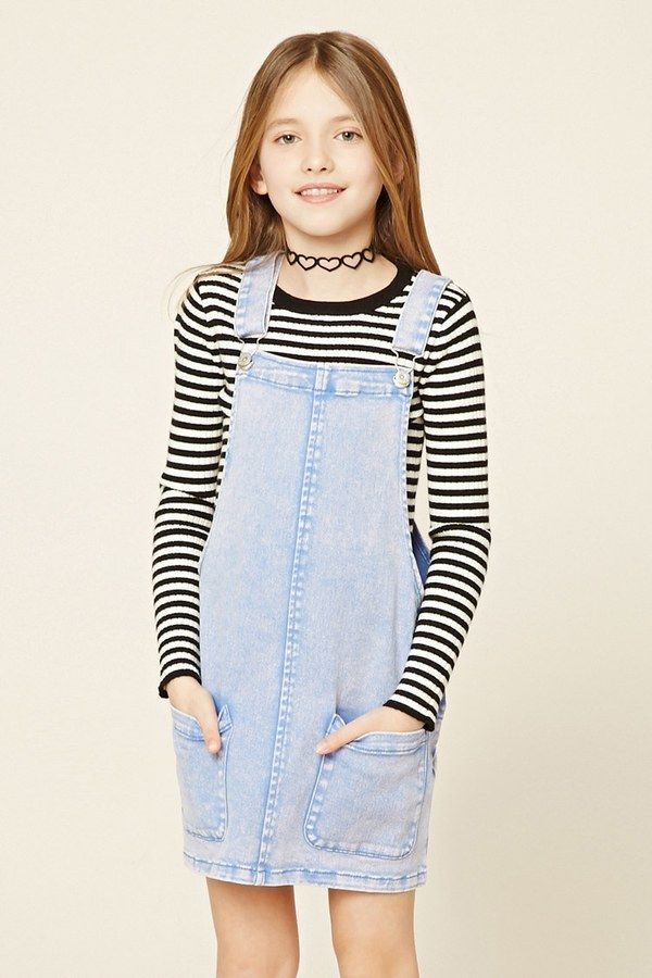 3a2013ce6f0 FOREVER 21+ Girls Overall Dress (Kids)