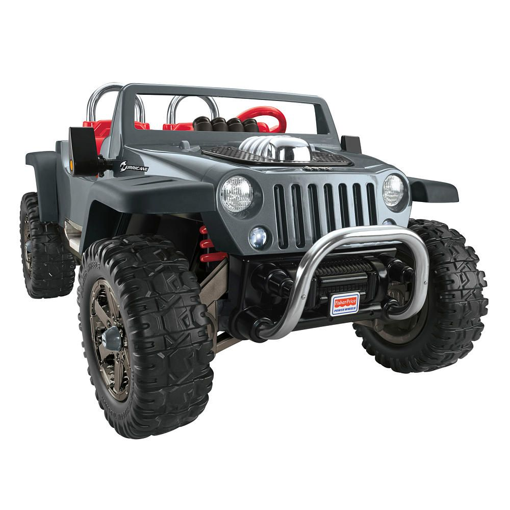 Your Child Will Have A Blast Driving The Power Wheels Jeep