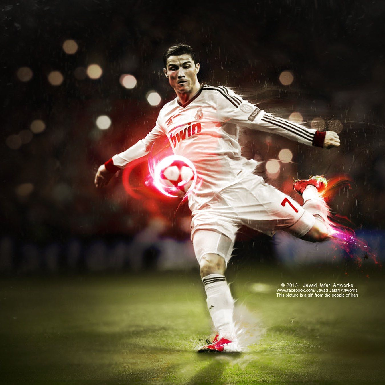 Art Of Cristiano Ronaldo Fans #wallpaper #sport #soccer
