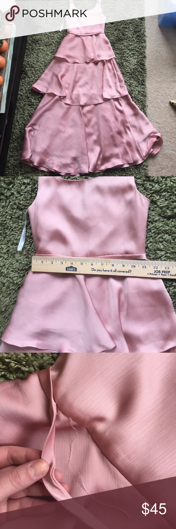 Rose junior bridesmaid gown NWT | Disney dresses, Gowns and Rose