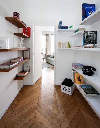 Rangement couloir : les bonnes idées d\'aménagement   Couloir ...