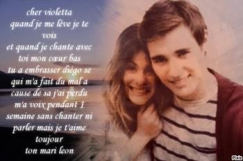 martina stoessel y jorge blanco violetta y leon youtube songs pinterest - Jeux De Violetta Et Leon
