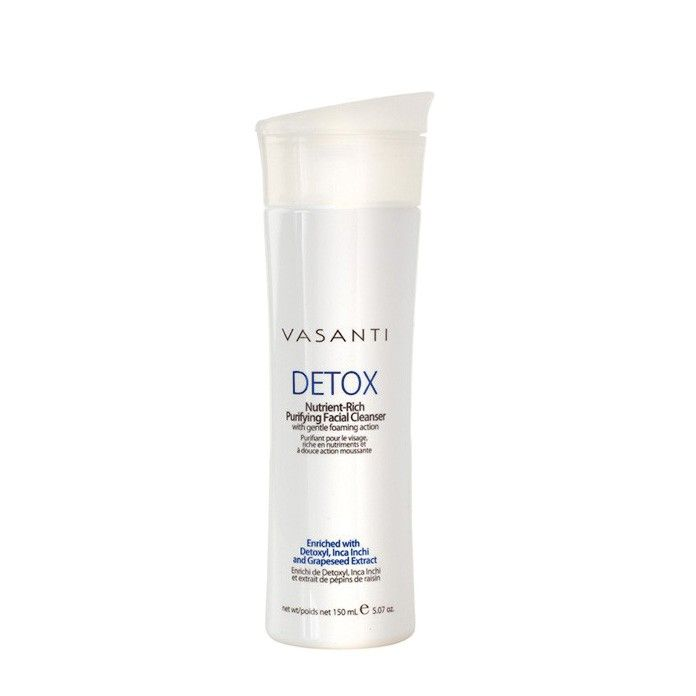 "Vasanti Detox Nutrient Rich Purifying Facial Cleanser, <span class=""price"">£18.00</span> #birchboxuk"