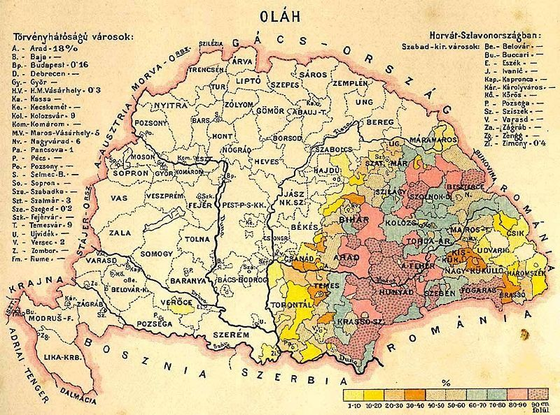 Harta Ungariei Mari With Images Hungary Historical Maps