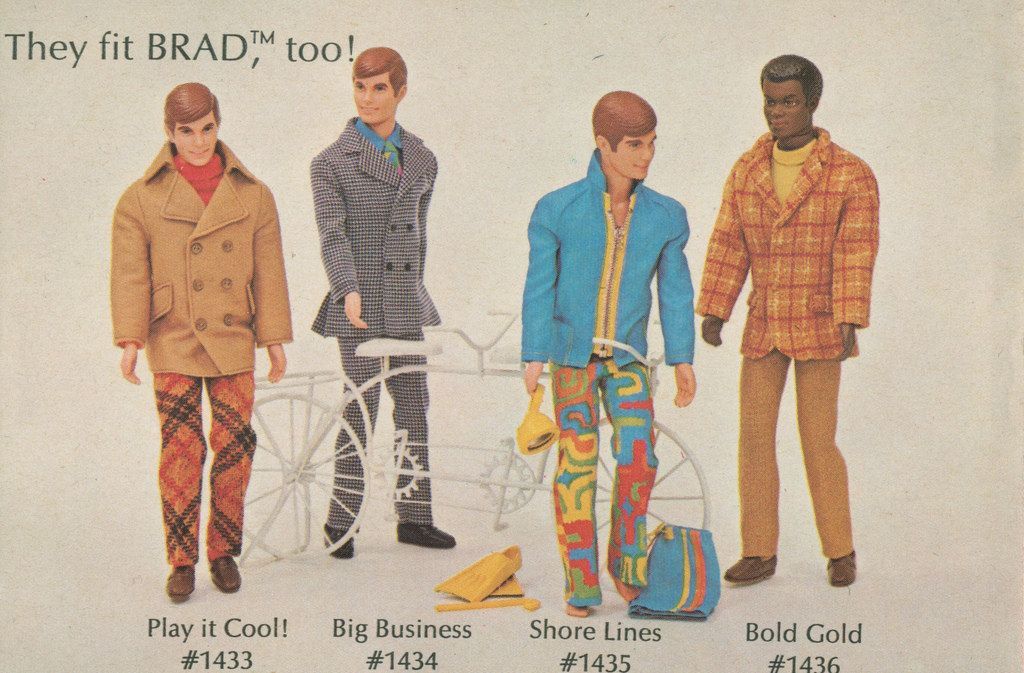 <b>Barbie was pretty groovy in the early '70s.</b>
