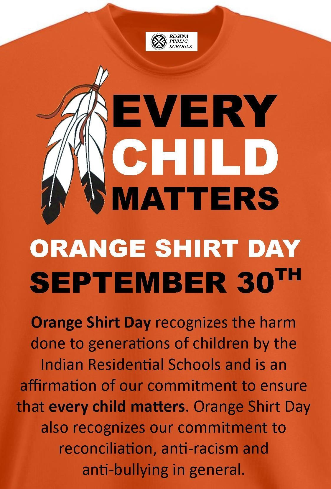orange shirt day recognizes the harm done to generations of  orange shirt day recognizes the harm done to generations of children by the n residential schools