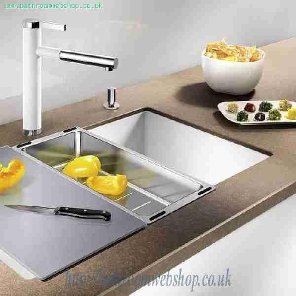 Lovely Andano STEELART Kitchen Sinks Blanco Accessories   Blanco Andano Colander  (Stainless Steel) 227692 BLANCO