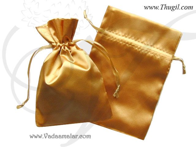 8405db37528f83 Gift bag India Weddings Festivals Satin Cloth Bags Pouchs Return Gifts