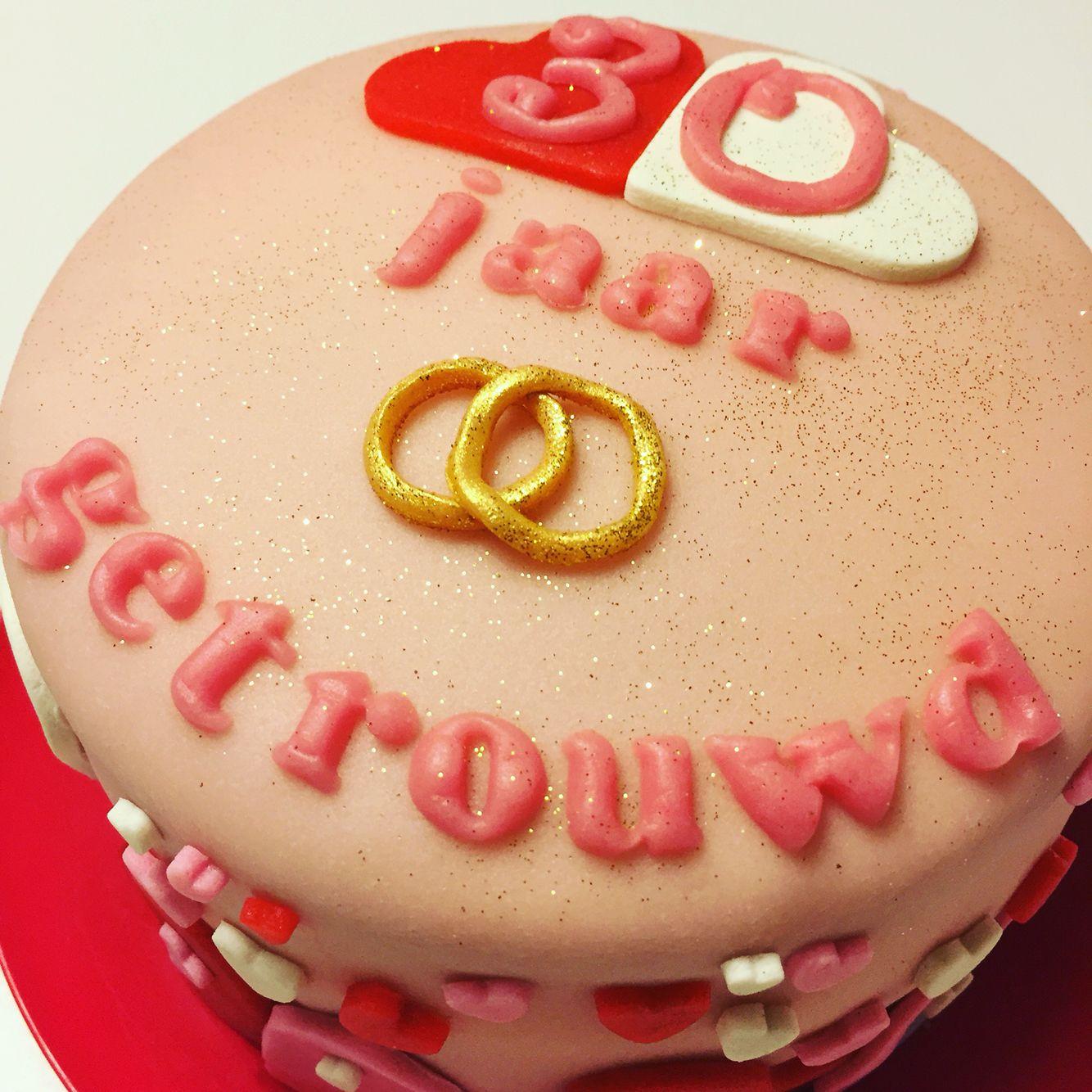 Ongekend Jubileum taart 30 jaar getrouwd #sweetlike | Taart, Cupcakes EF-89