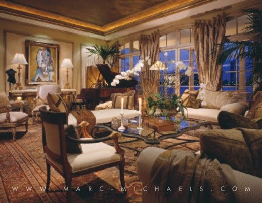 View our luxury interior design portfolio for palm beach florida and see why marc michaels has Palm beach interior designers