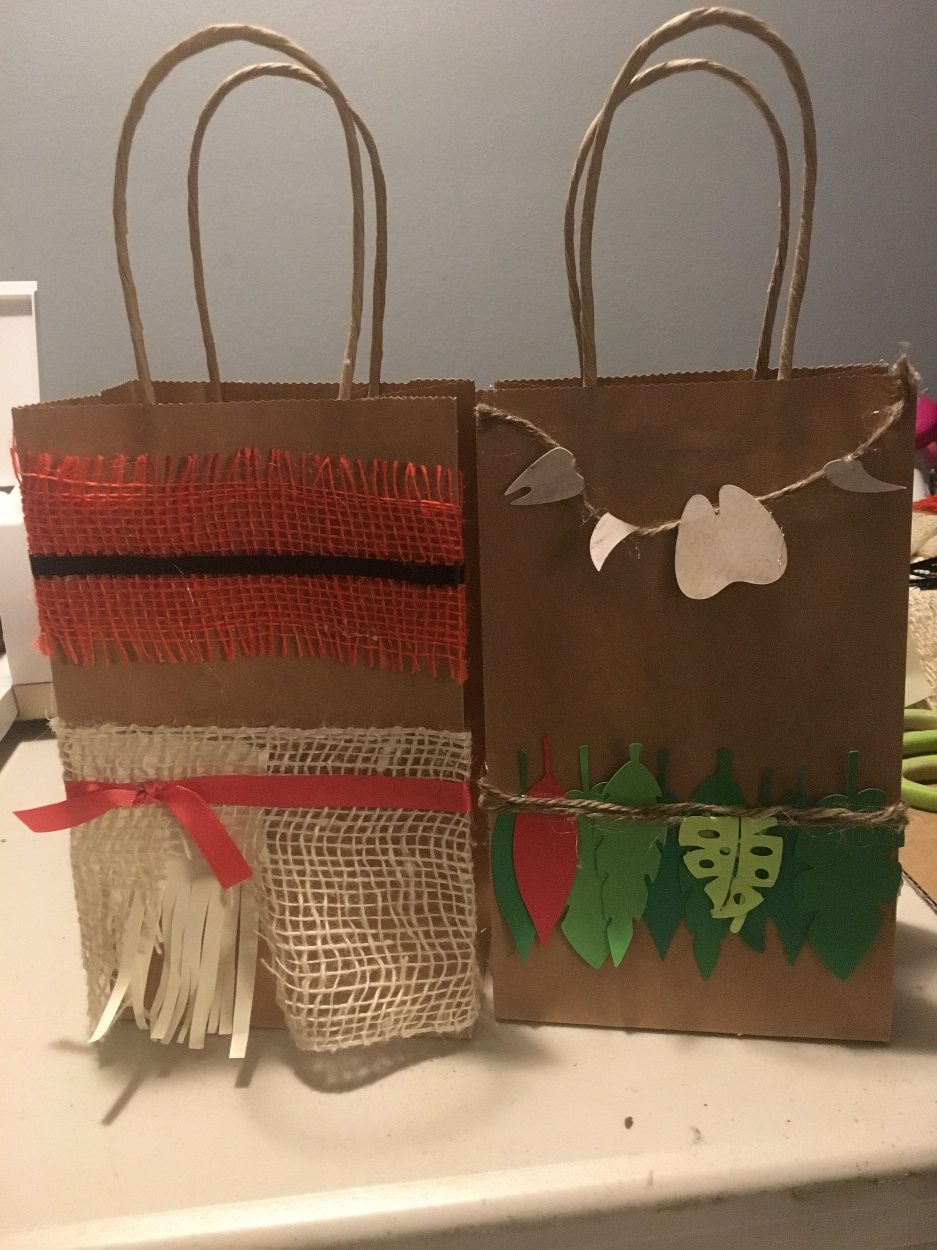 Moana And Maui Goodie Bags