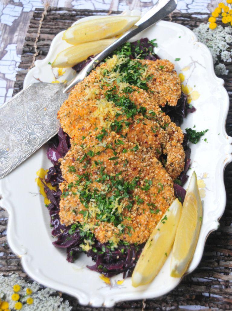 Paleo Hemp Seed Chicken Schnitzel Recipe