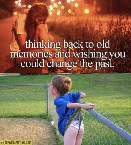 Wishing You Could Change The Past