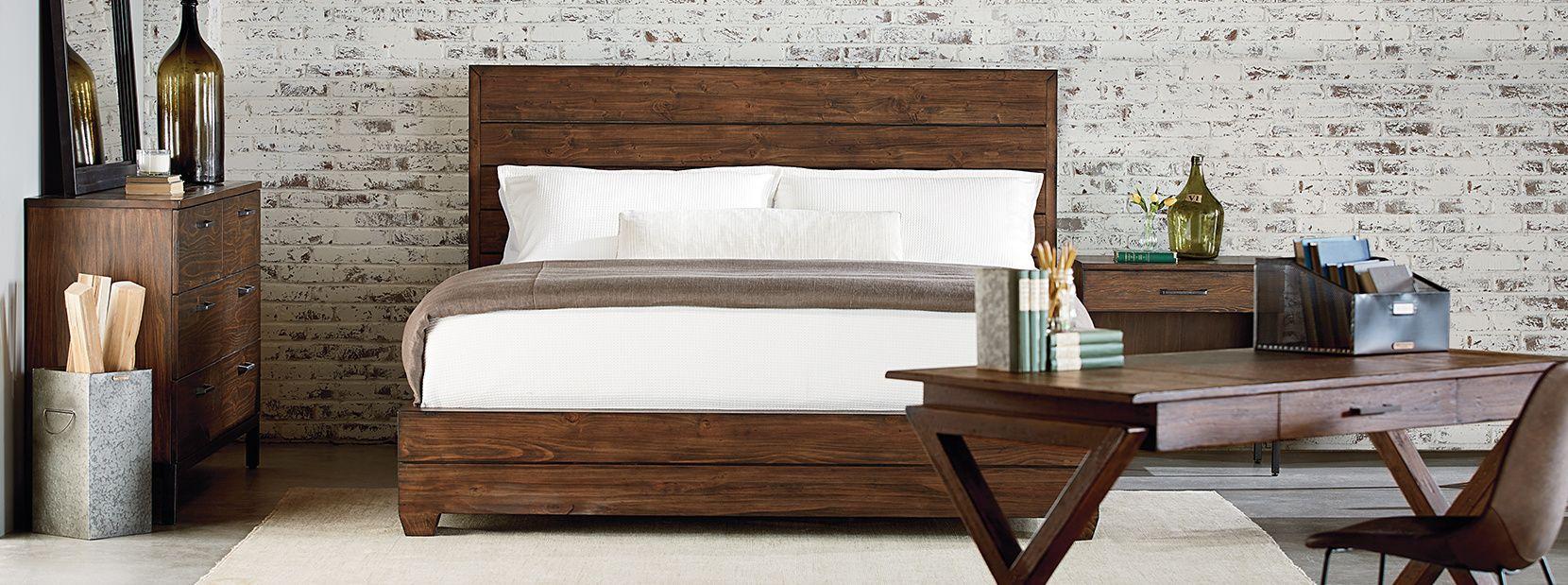Magnolia Home Collection by Joanna Gaines - Industrial   Art Van Furniture  · Rustic BedroomsMagnolia ...