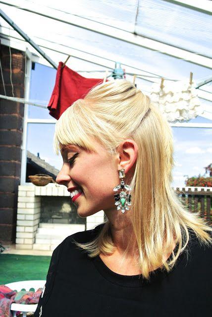 Oasap/J.Crew rhinestone earrings