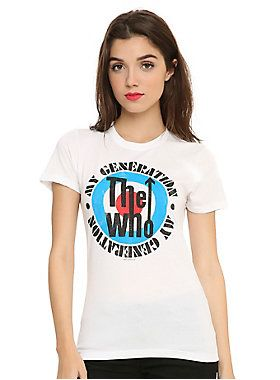 The Who My Generation Music Band T Shirt