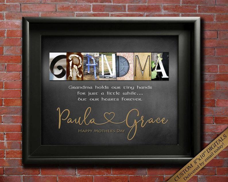 Grandma Gift Nana Gift Birthday or Mothers Day