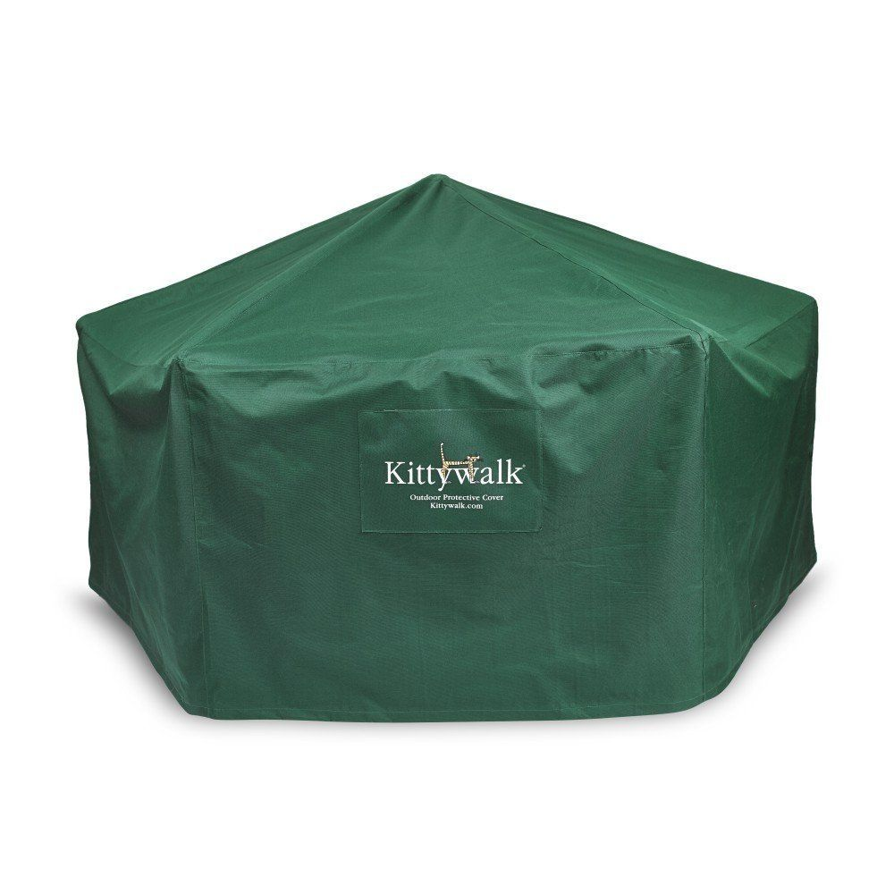 Outdoor Protective Cover for Kittywalk Gazebo ** To view further, visit now : Cat House