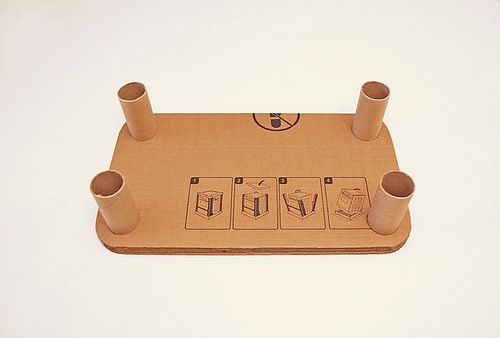 tavolino di cartone 2/2 Детский столик из картона .