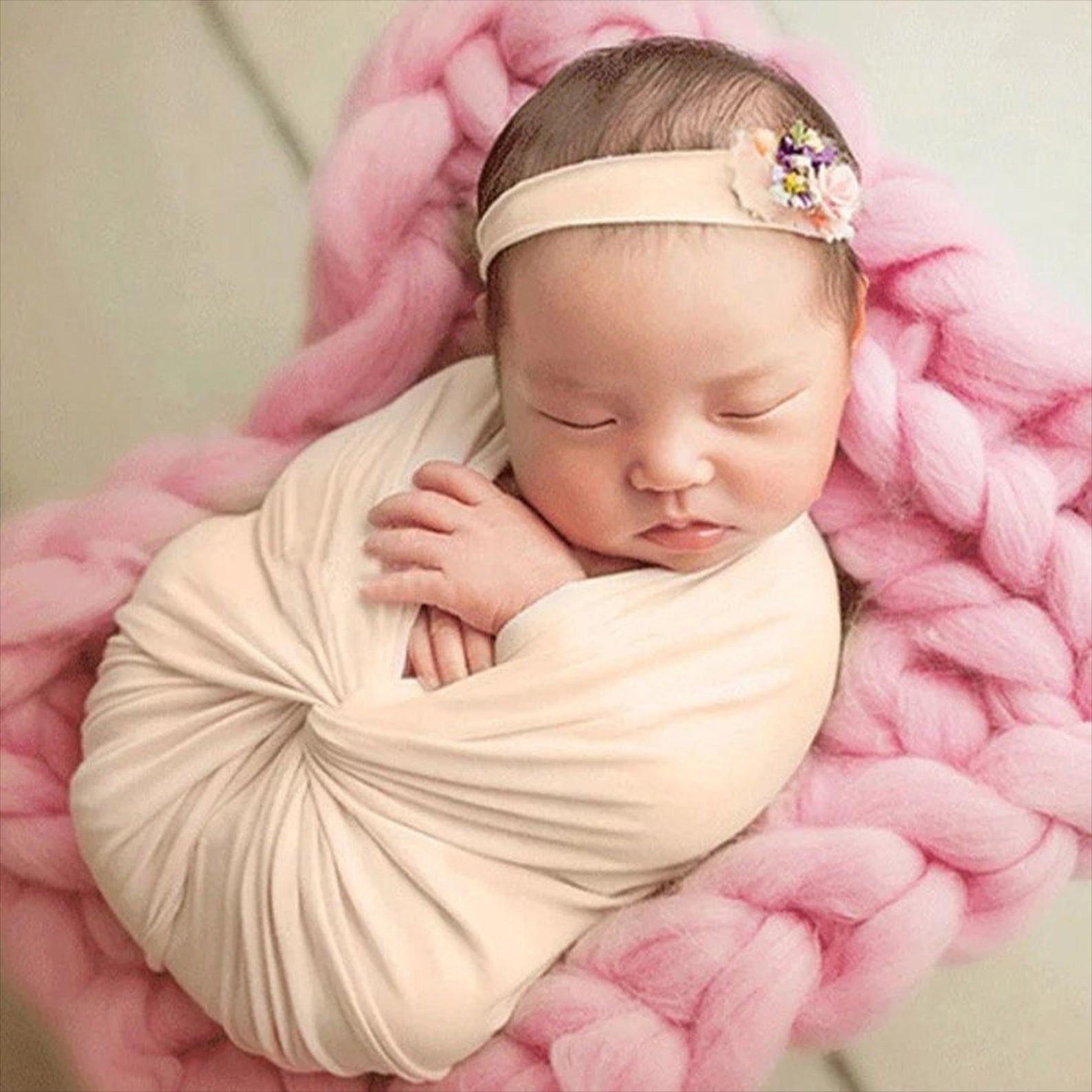 Newborn Baby Photography Prop, Newborn Baby Wrap, Baby