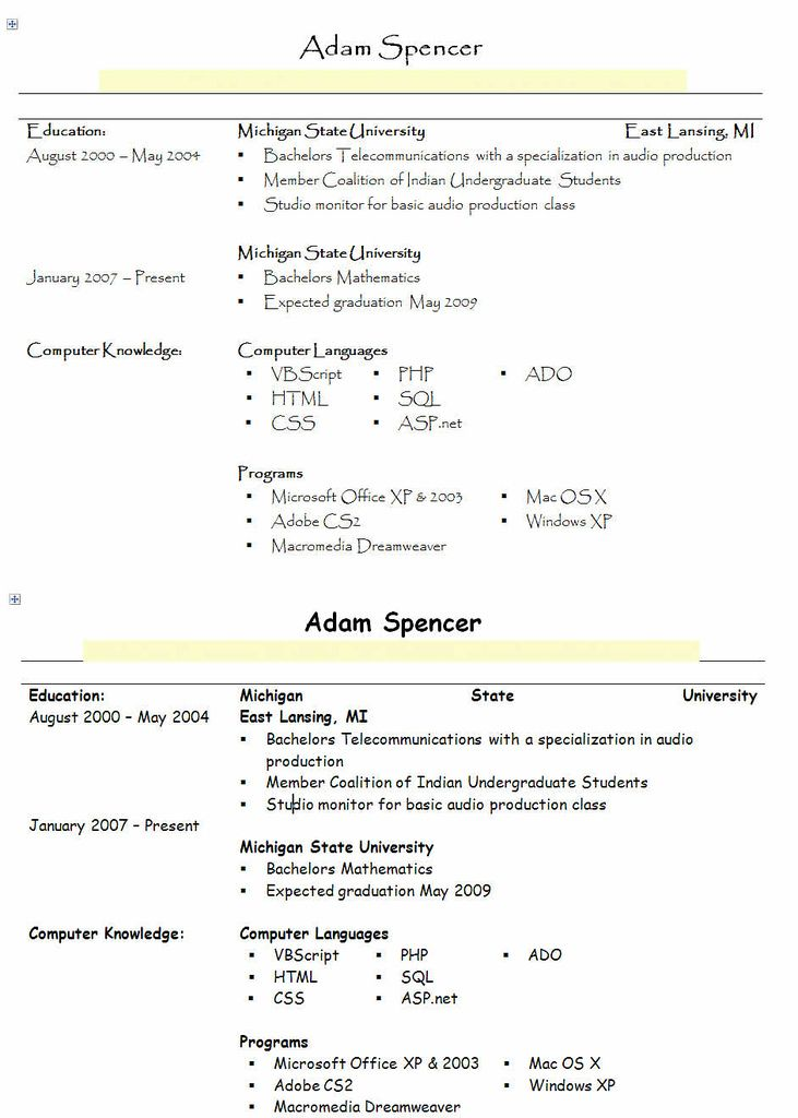 proper font for resume templates instathreds co