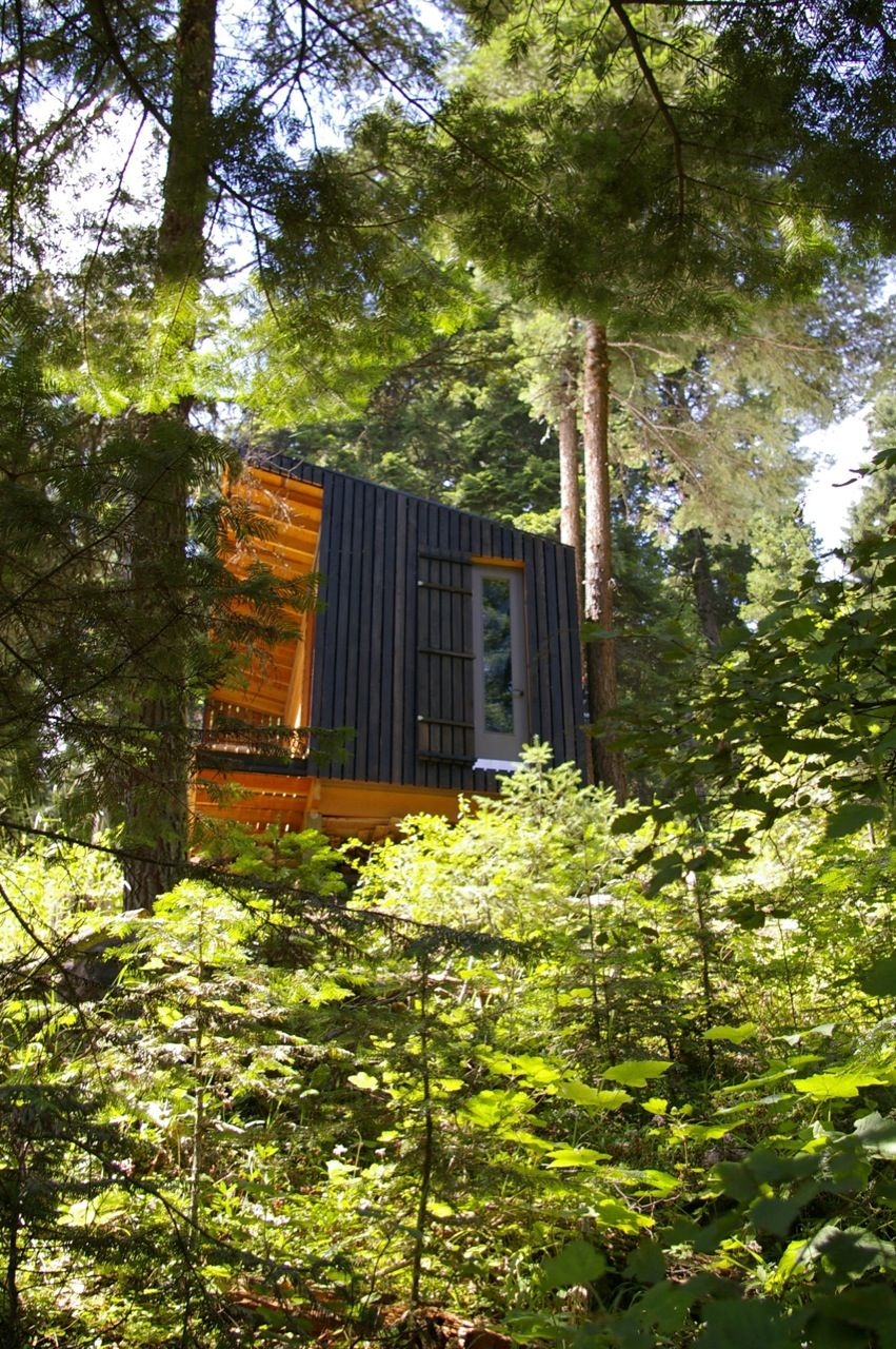 ^ Weekend abin: Signal Shed, Joseph, Oregon rchitecture ...