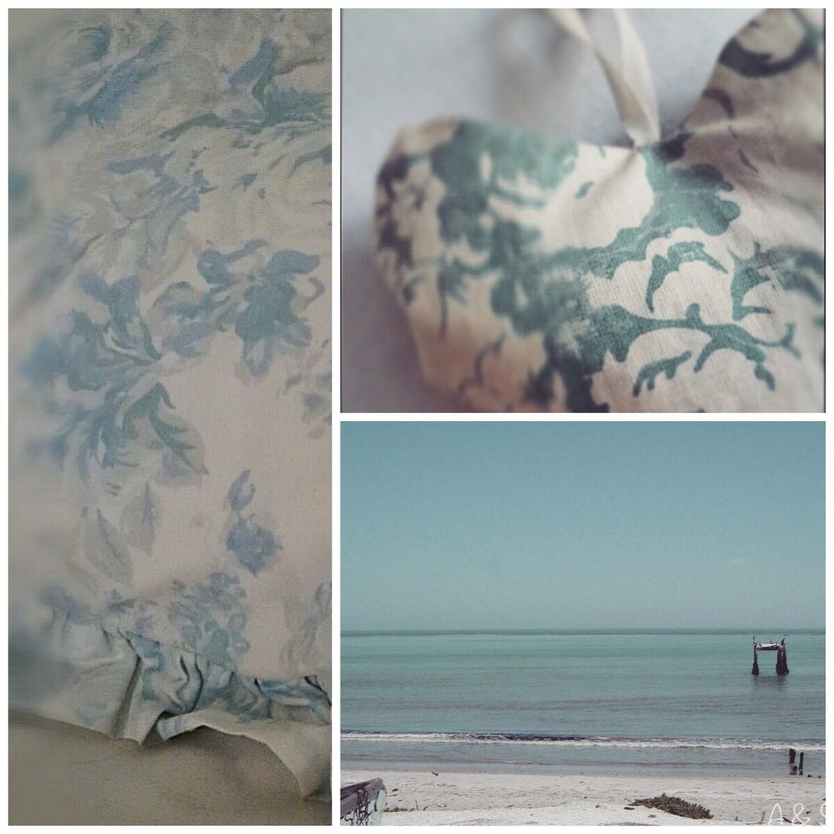 To the sea - Cabbages and Roses