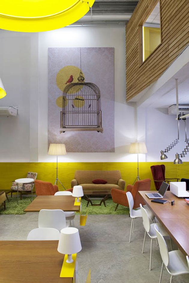 combined office interiors. Design Studio Total Tool Have Completed A Combined Office And Cafe For Nomadic Workers In Buenos Aires, Argentina. Interiors I