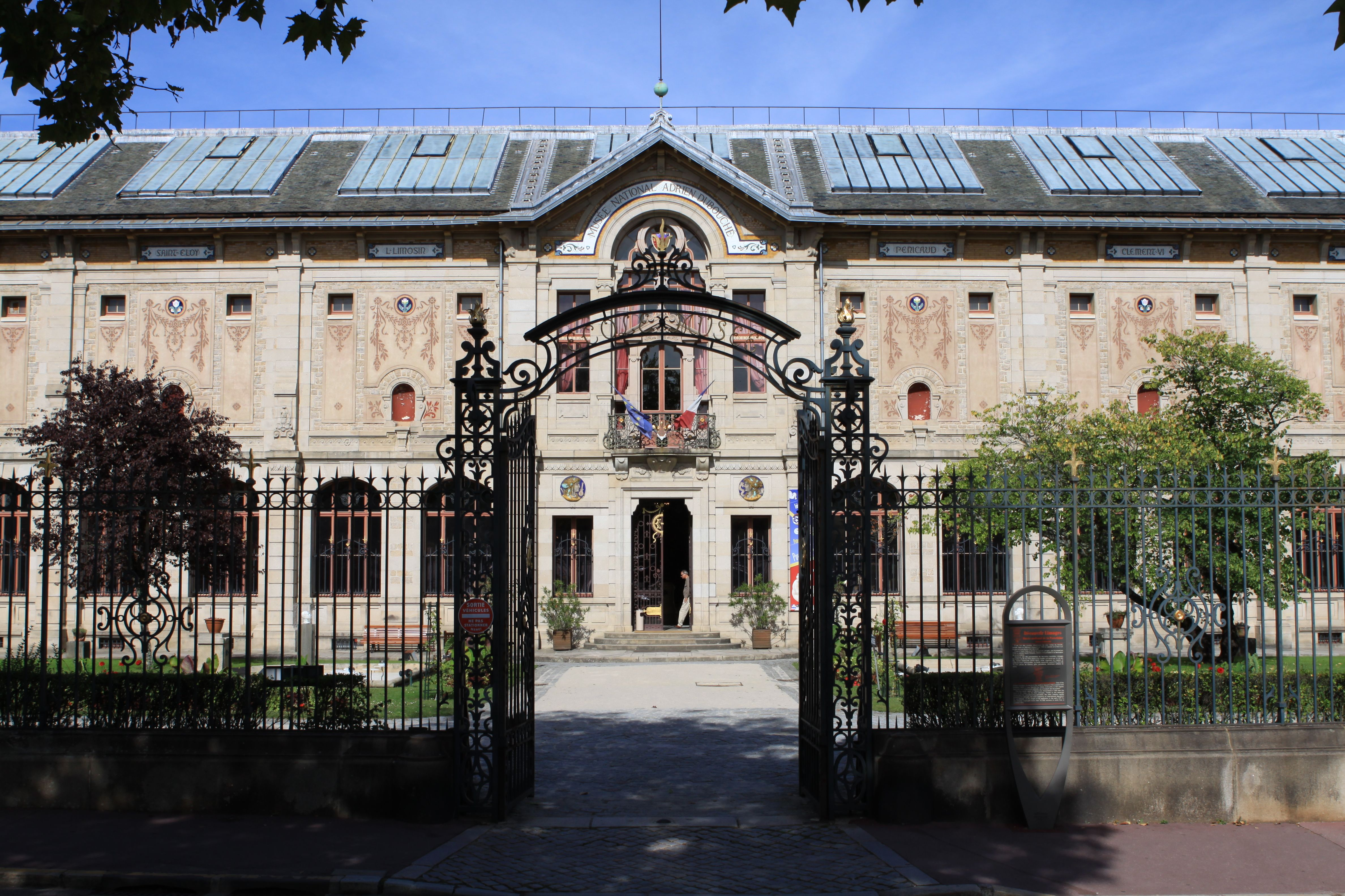 Musee national adrien dubouche - Limoge France