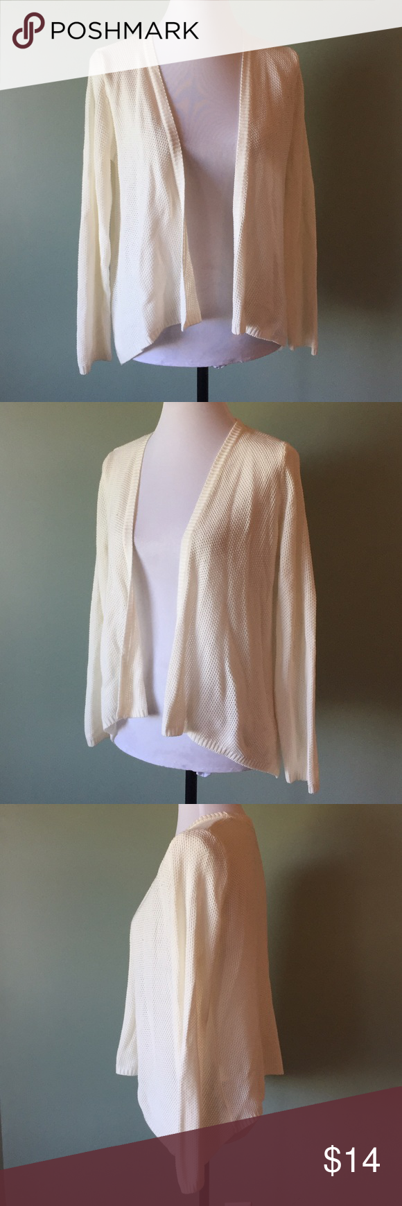 Cream colored cardigan H&M small Cream colored cardigan. Really ...