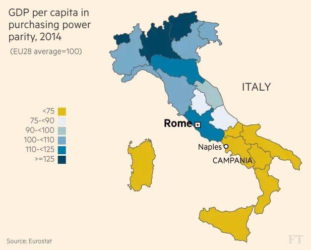 Italia Pib Per Capita