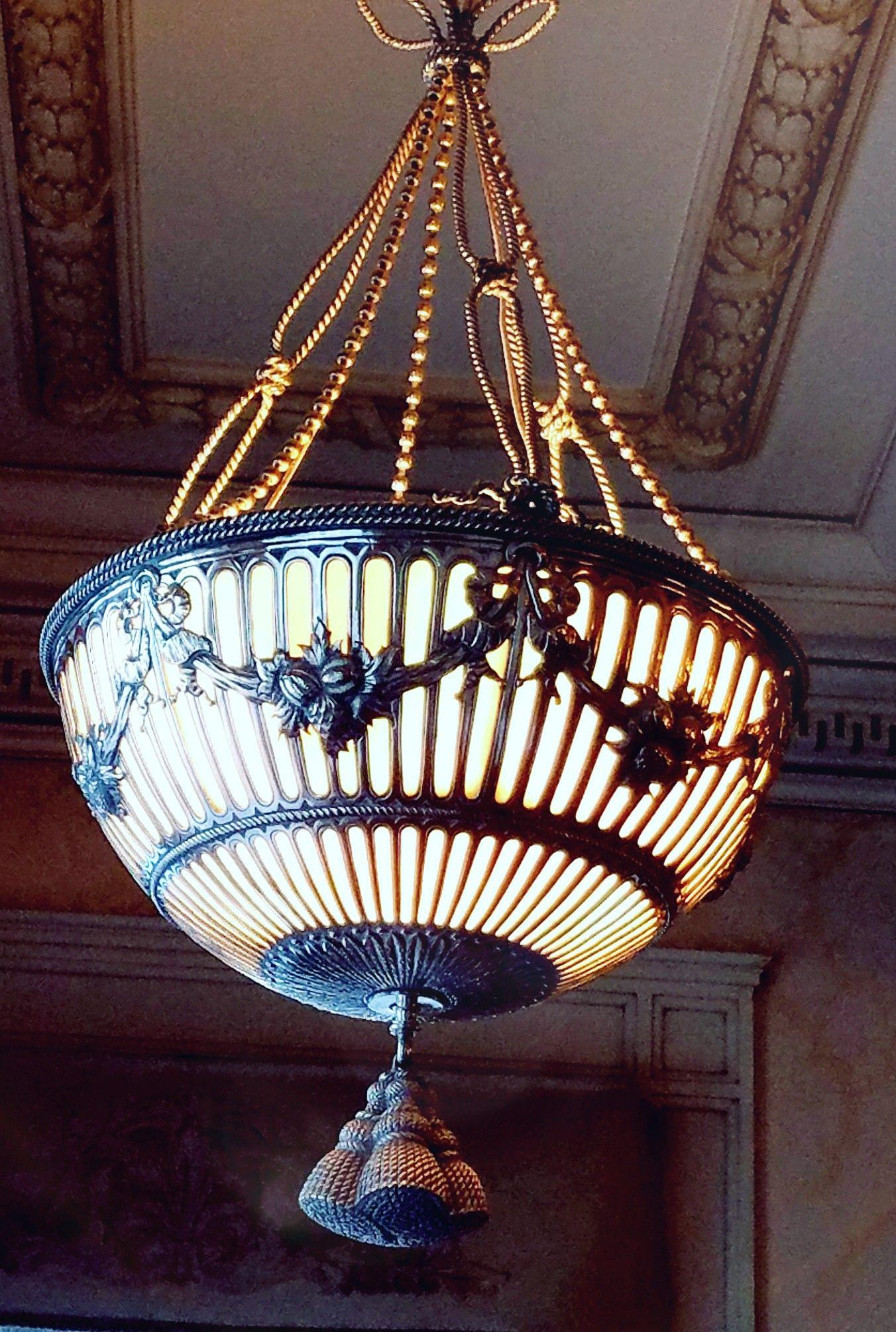 Hidden glensheen helens room duluth light fixtures mansions glass shades