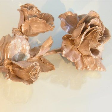 Wooden rose ring box. Amazing!