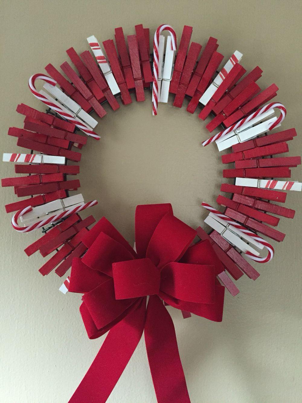 17++ Diy candy cane wreath inspirations