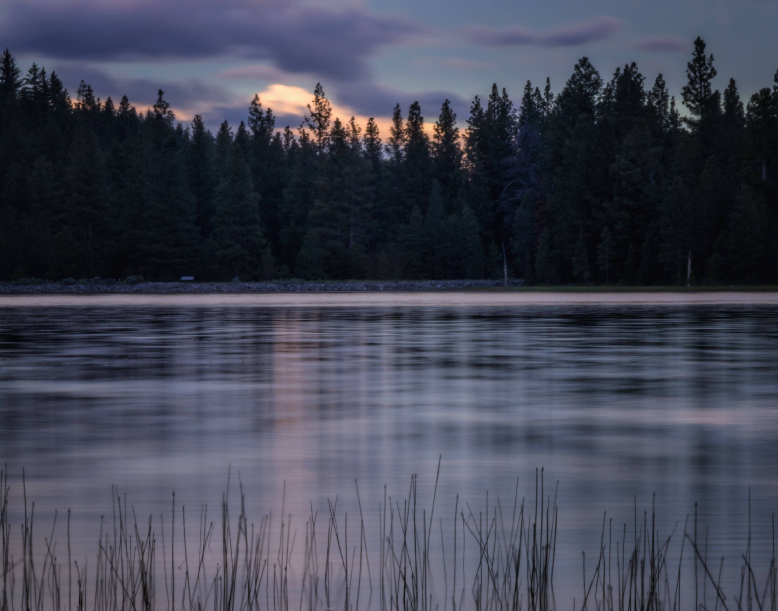 My Quiet Place (prints) long exposure photograph Juanita Lake California reflections on the water by MarniePatchett on Etsy