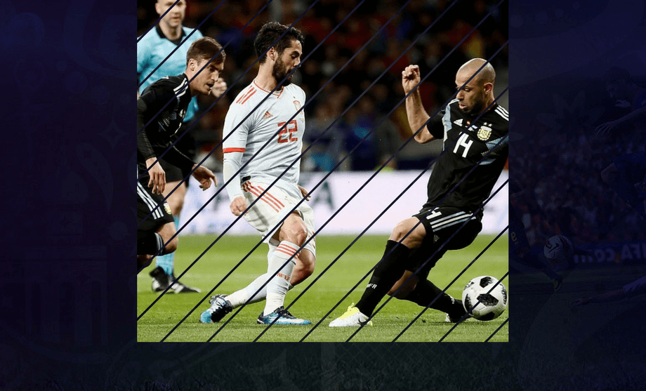Isco Hat Trick Sealed A Victory Over Argentina Isco Fifa World Cup Victorious