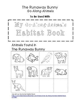 My Go Along Animals The Runaway Bunny The Runaway