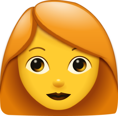 Red Hair Woman Emoji