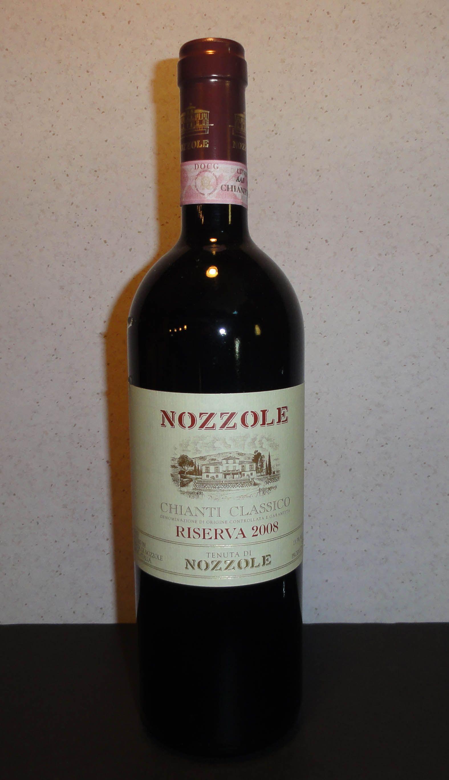 Nozzole, 2008 Chianti Classico Riserva, Greve Italy 26 Vino