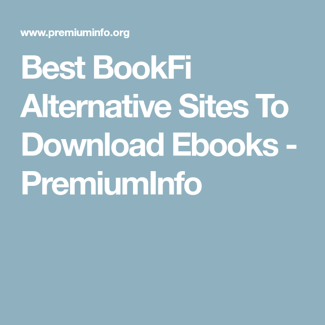 best sites to download ebooks
