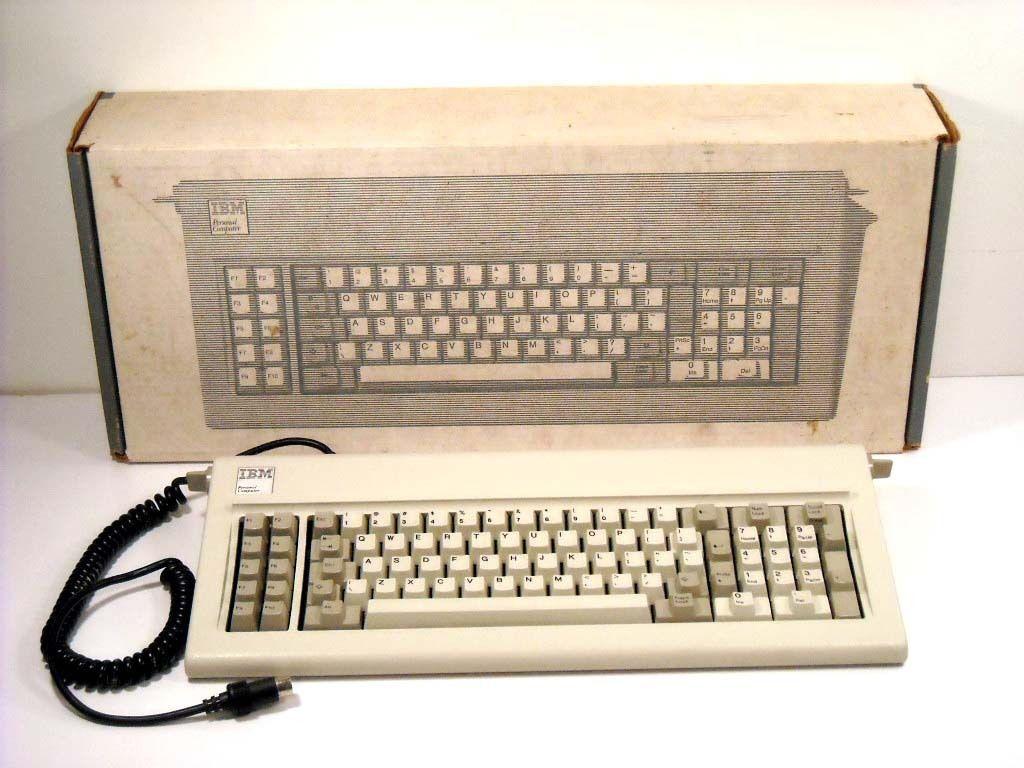 83 Key Ibm Pc Keyboard 1501100 Vintage Clicky Keyboard