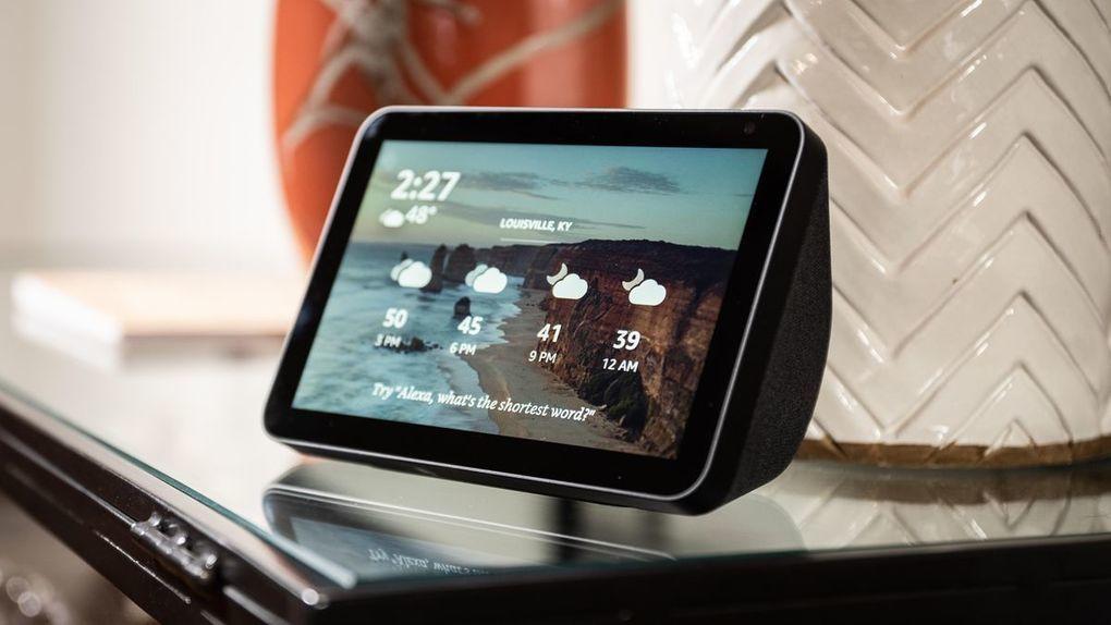 Amazon Echo Show 8 Review Amazon S Smartest Display Future Science Technology Tech Innovation Gadgets Ho Alexa Device Amazon Alexa Devices Amazon Alexa