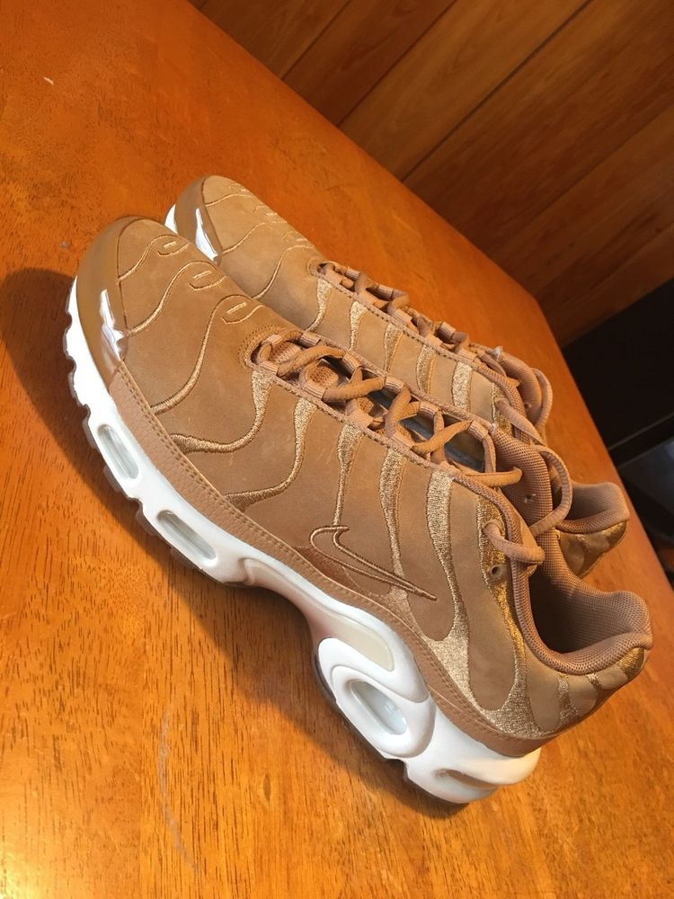 san francisco abc20 4d31f Nike Air Max Plus TN Wheat Flax Suede Sail Mens Size 10  fashion  clothing   shoes  accessories  mensshoes  athleticshoes (ebay link)