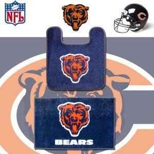 Nfl Chicago Bears Logo Bathroom Soft